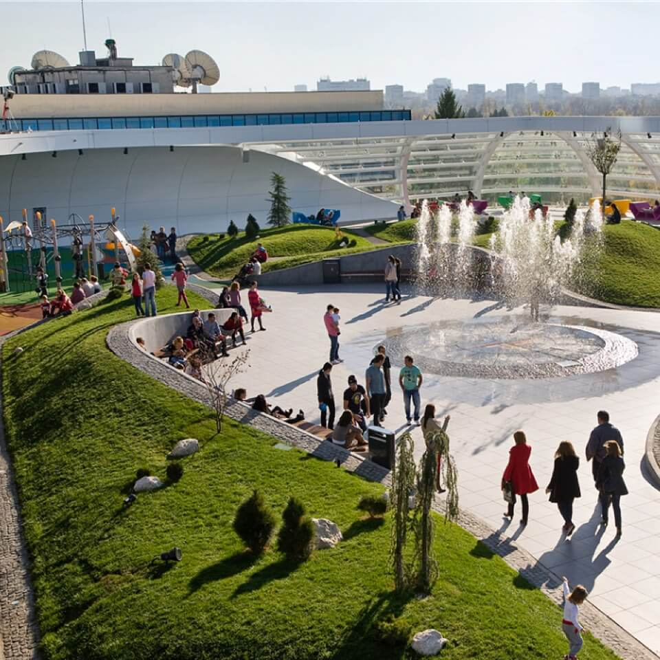 Promenada Bevásárlóközpont - Bukarest, Románia